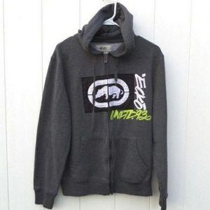 3for$10 Ecko Unlimited Mens Hoodie Jacket Zip Up S